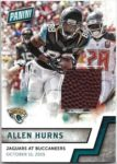 Allen Hurns 2016 Panini Fathers Day Game Used Ball
