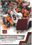 A.J. McCarron 2016 Panini Fathers Day Game Used Ball