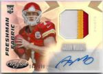 Aaron Murray 2014 Panini Certified Rookie Auto Patch 142/699