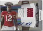Andre Roberts 2010 Panini Certified Rookie Auto Dual Jersey 38/699