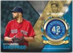 David Price 2017 Topps Jackie Robinson 70th Anniversary Commemorative Patch