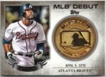 Jason Heyward 2016 Topps MLB Debut Gold Medallion