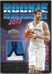 Jeff Withey 2016-17 NBA Hoops Rookie Remembrance Patch 11/25