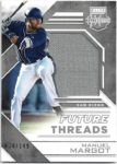 Manuel Margot 2016 Panini Elite Extra Edition Future Threads Rookie Jersey 34/149