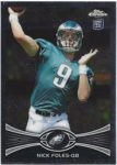 Nick Foles 2012 Topps Chrome Rookie Auto