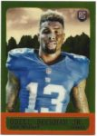 Odell Beckham Jr. 2014 Topps Chrome Rookie 1963 Mini Gold