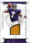Randall Cunningham 2016 Panini National Treasures Century Materials Patch 1/3